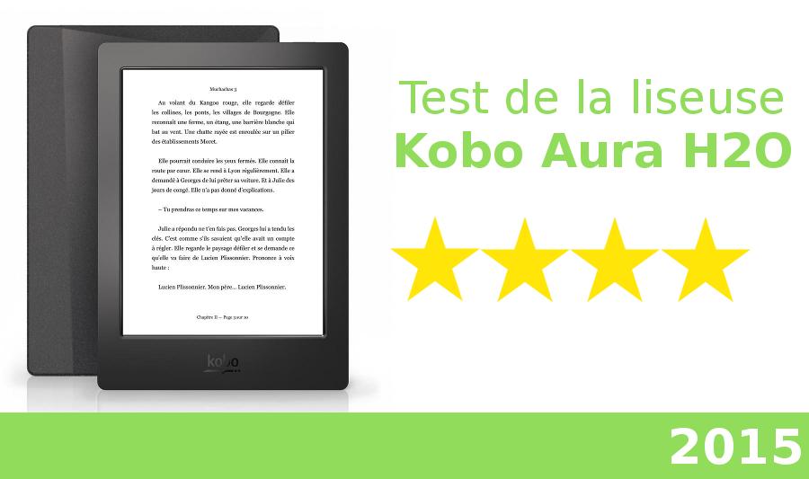 test kobo aura H2O