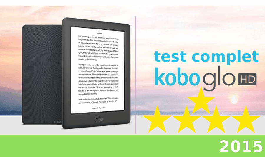 test kobo glo hd