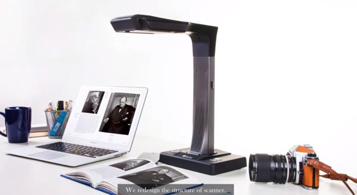 Czur scanner pour numériser des livres papier facilement et rapidement