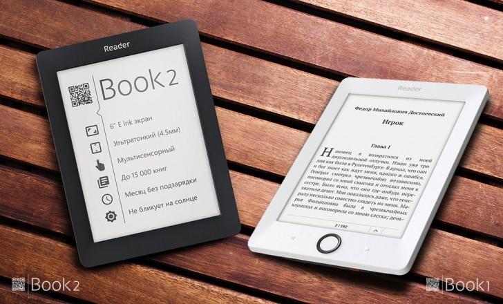 Liseuses Reader Book1 et Reader Book2 (Pocketbook)