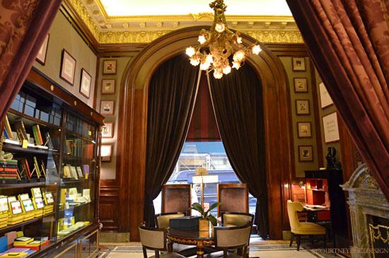 Librairie Thornwillow dans l'hôtel St. Regis à New York