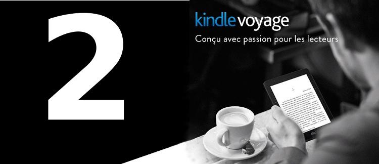 Kindle Voyage 2 : sortie prévue aux USA en novembre