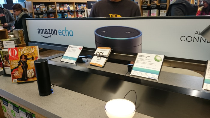 Magasin Amazon de Seattle : Echo