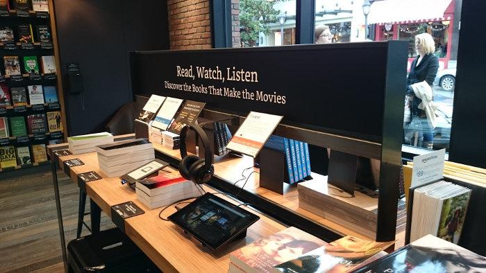Magasin Amazon de Seattle : tablettes Fire