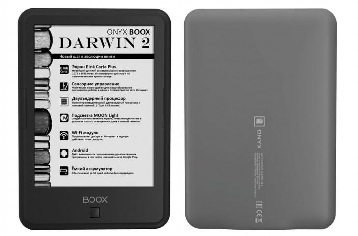 liseuse onyx Darwin 2 avec Android