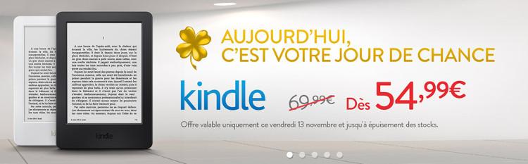 Promotion sur liseuse Kindle : 54,99€ au lieu de 69,99€