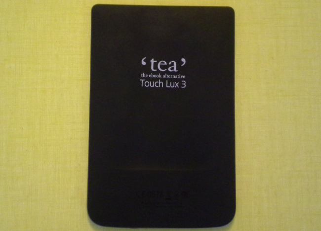 Liseuse Tea Touch Lux 3 : dos