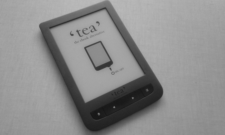 Test de la liseuse Tea Touch Lux 3