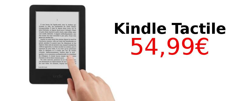 Promotion sur la liseuse Kindle