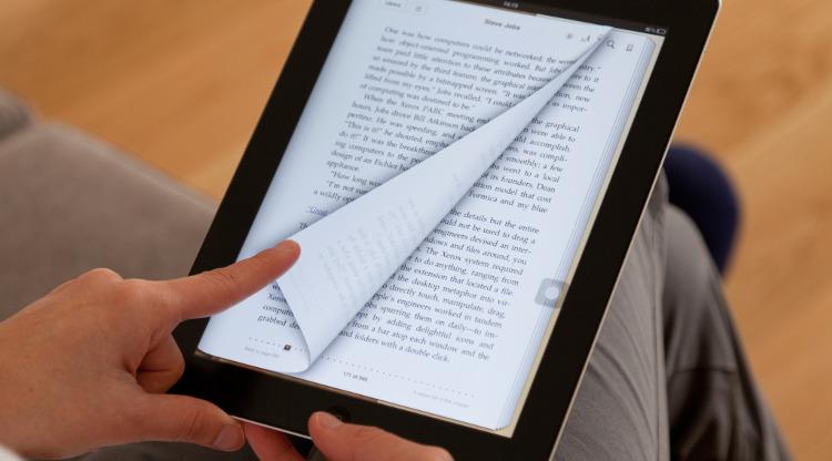 Lire un ebook sur une tablette