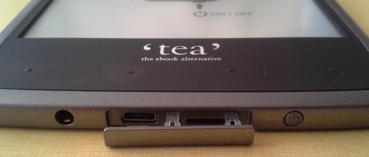 liseuse tea ultraport micro-SD