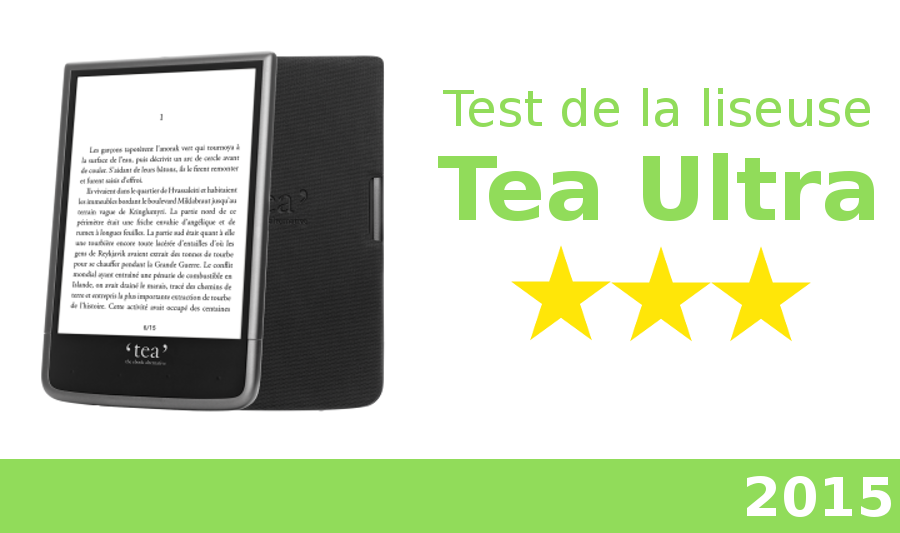 test liseuse tea ultra
