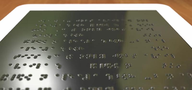 Liseuse Braille