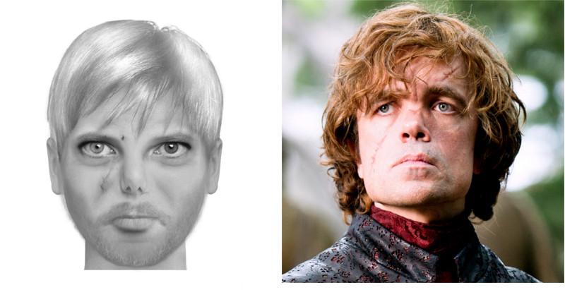 Tyron Lannister et Peter Dinklage