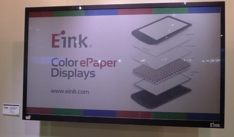 écran 32 pouces E-Ink couleur