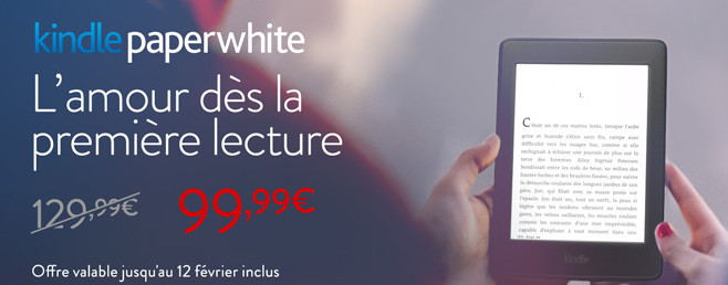 Kindle Paperwhite en promotion