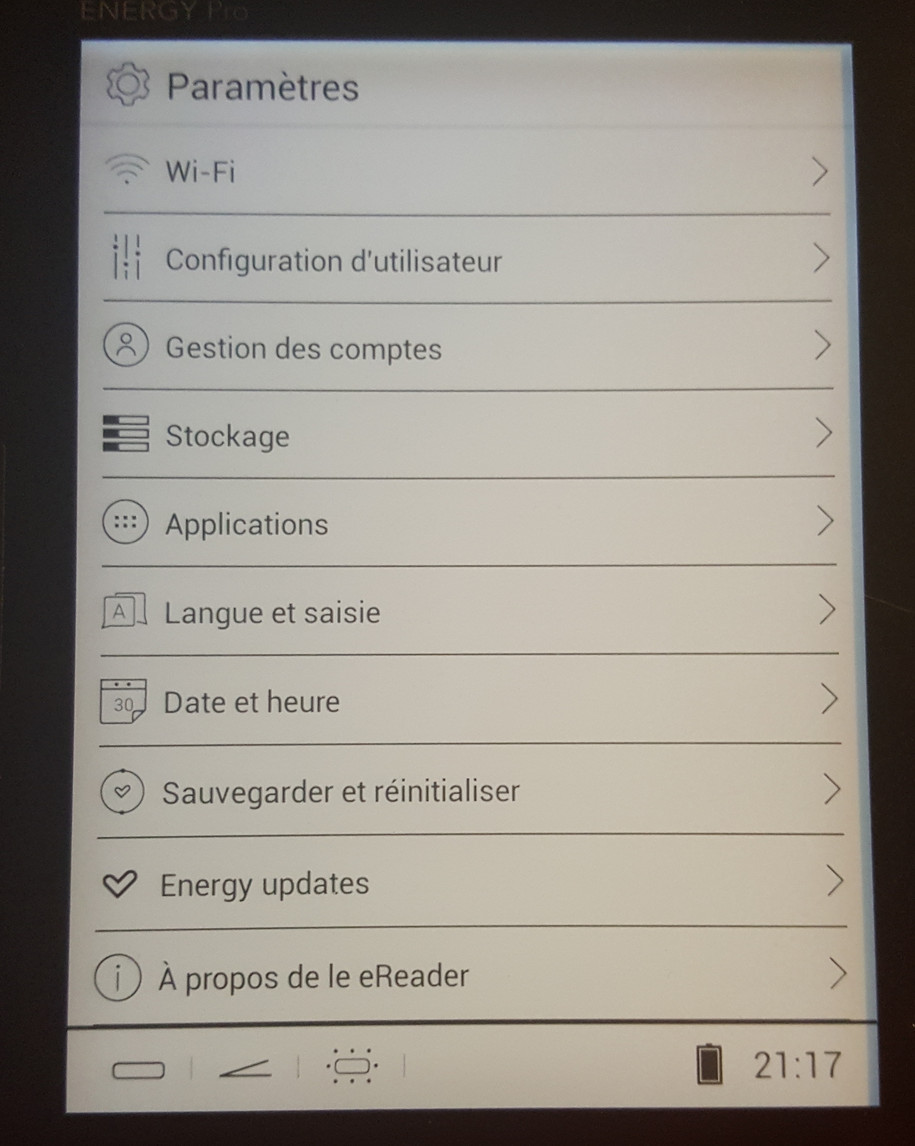 nergy sistem eReader Pro HD