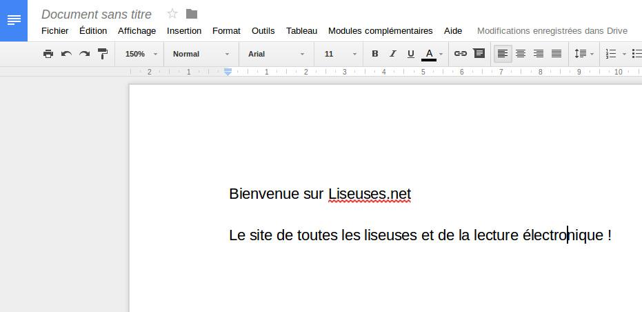 Google Docs pour remplacer Word