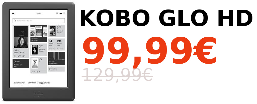 Promotion Kobo Glo HD