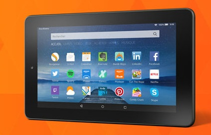 amazon fire tablette android