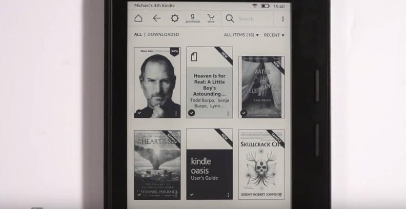 test vidéo de la Kindle Paperwhite