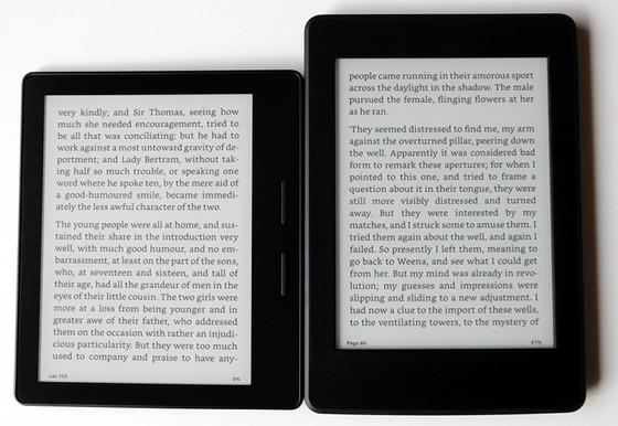 Comparaison vidéo Kindle Oasis et Kindle Paperwhite