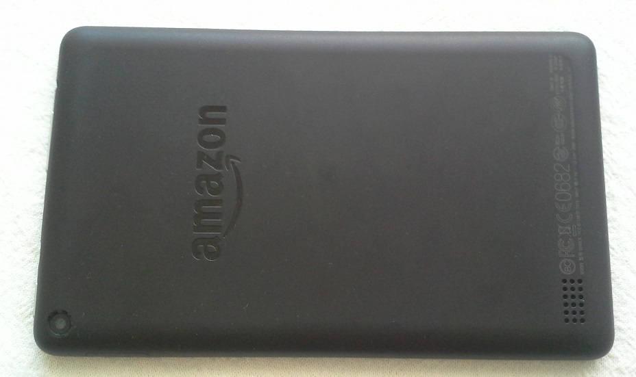 tablette fire amazon dos