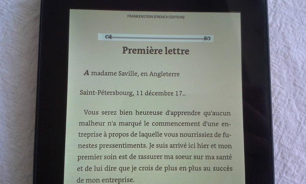 tablette fire amazon lecture ebook