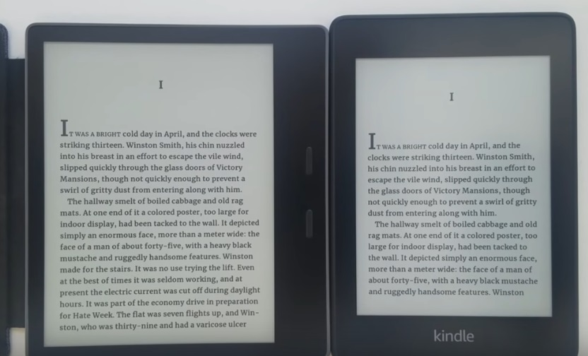 kindle oasis ou kindle paperwhie