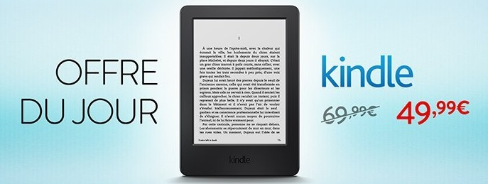 Promotion Kindle 50€