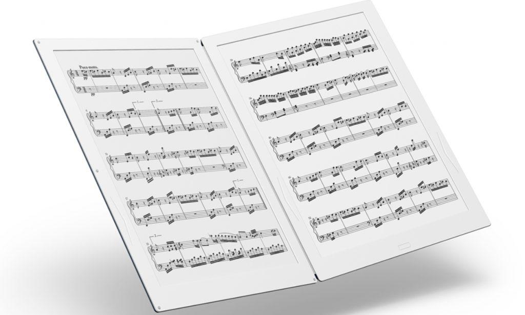 Gvido liseuse musicien partition