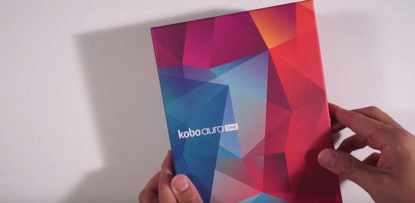 Kobo Aura One Unboxing vidéo