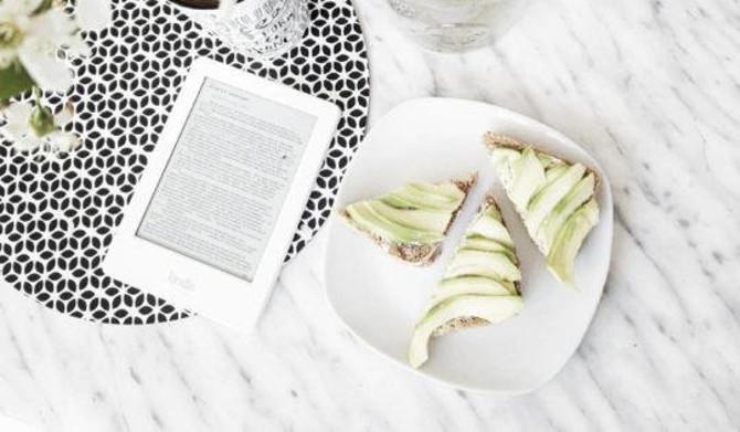 Kindle blanc