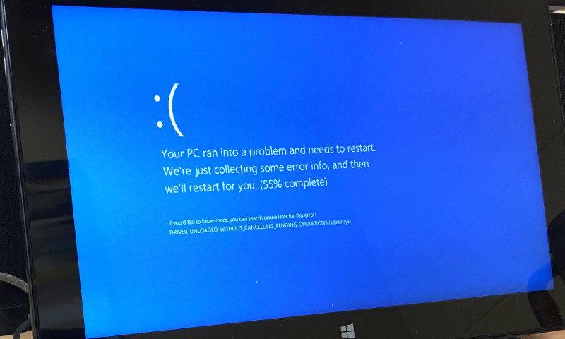 Windows 10 bug Kindle