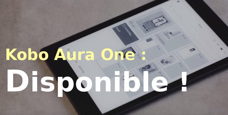 Kobo Aura One acheter