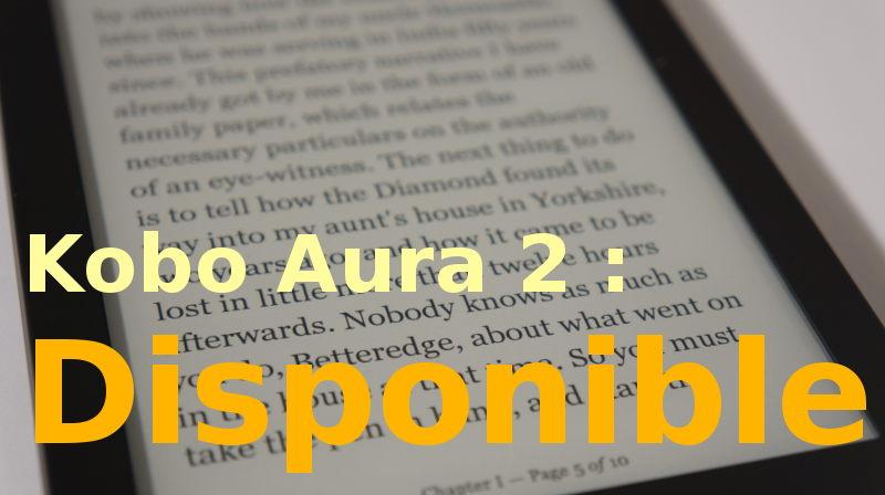 Kobo Aura 2 acheter