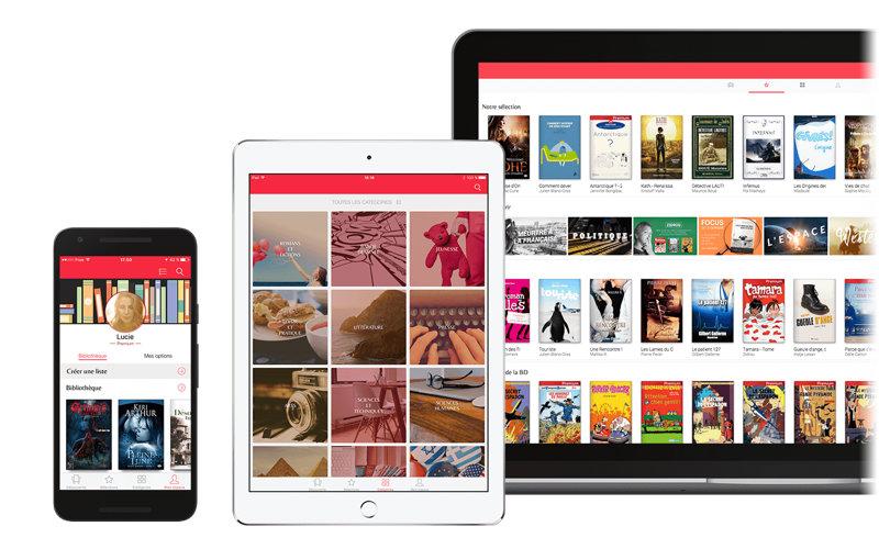 youboox sur tablette et smartphone