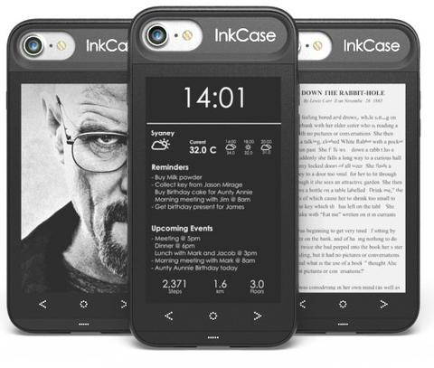 inkcase i7 iphone e ink