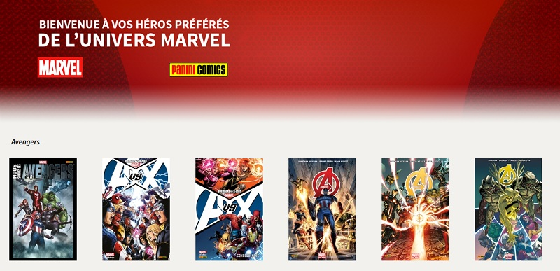 Marvel chez Sequencity