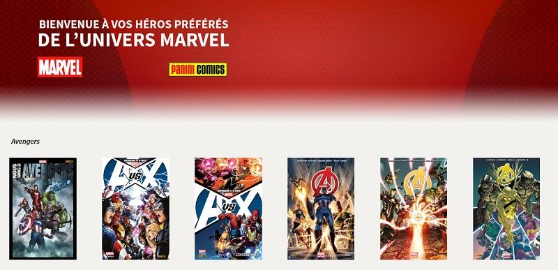 Marvel chez Sequencity