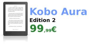 kobo aura edition 2 promo liseuse