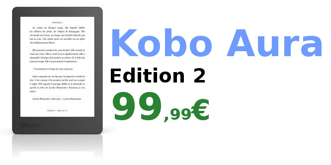 Kobo Aura Edition 2 promo 99,99€