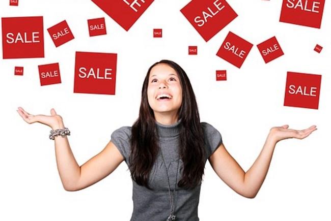 ventes bonheur content heureuse