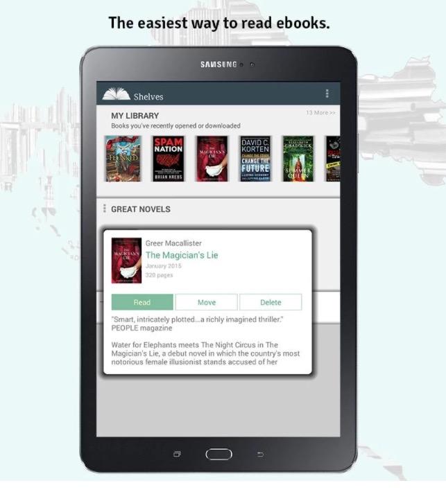 Croaia Reads app smartphone