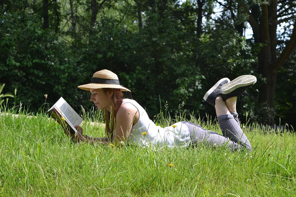 lecture nature femme livre