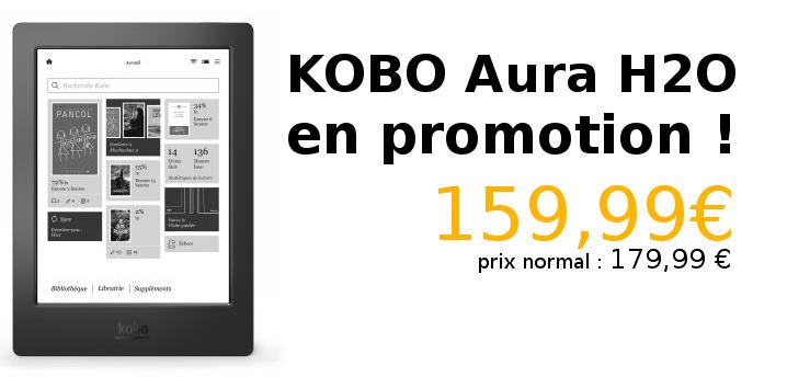 promotion kobo aura h2o