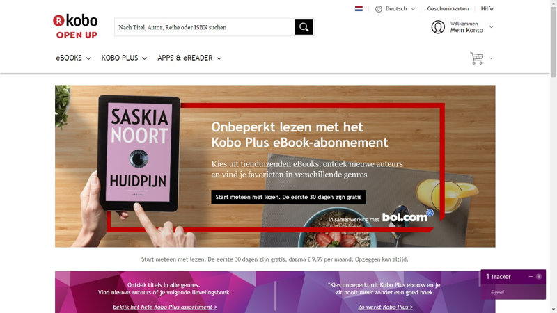 lecture ebook Kobo Plus