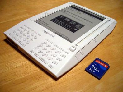 Une des premières liseuses Kindle