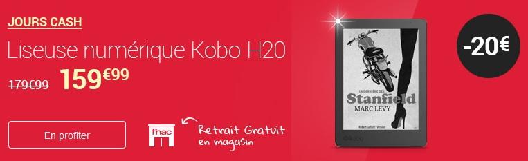 réduction liseuse kobo aura H2O