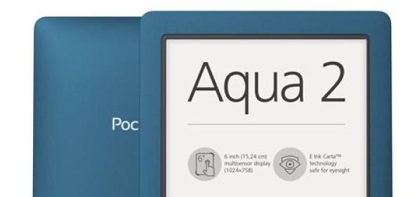 Pocketbook aqua 2 : liseuse étanche